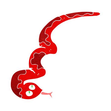 hissing: cartoon hissing snake