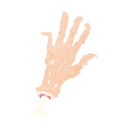 severed: cartoon gross severed hand