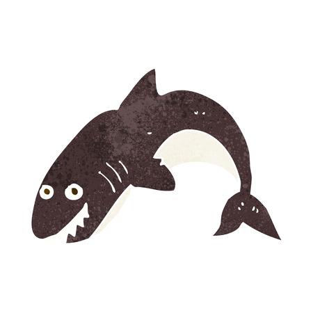 tiburon caricatura: tibur�n de la historieta