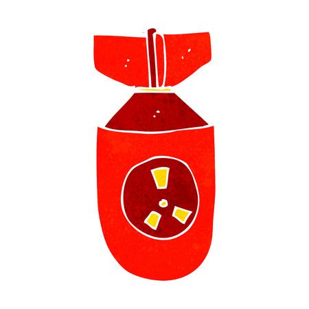 cartoon atom bomb Stock Vector - 28993915