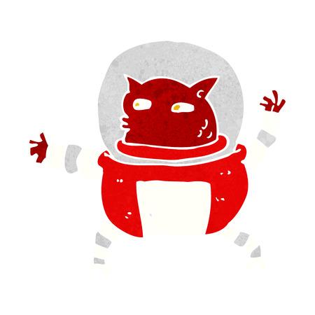invader: cartoon alien Illustration
