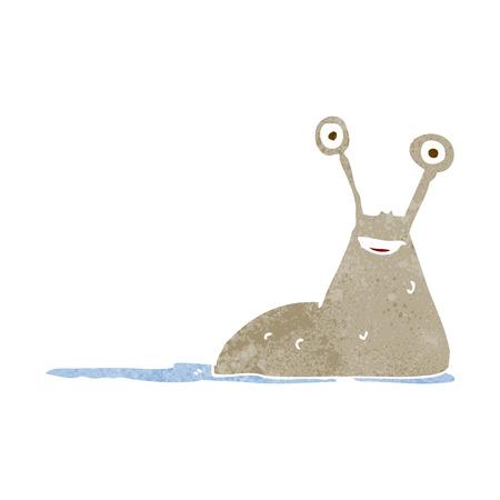 nacktschnecke: Cartoon Slug