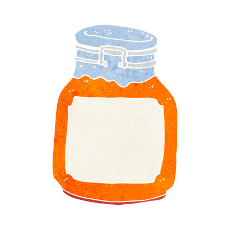 marmalade: cartone animato marmellata conserva Vettoriali