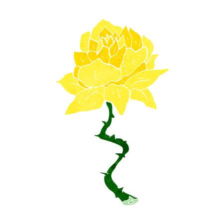 Fleur de bande dessinée Banque d'images - 28955974