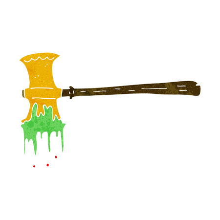 slayer: cartoon slayer axe