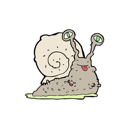 slug: cartoon gross slug