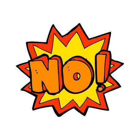 no symbol: cartoon no symbol