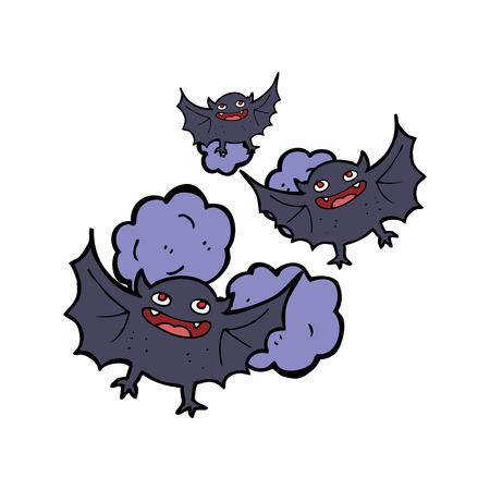 vampire bats: cartoon vampire bats