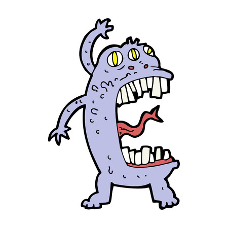 crazy cartoon: cartoon crazy monster