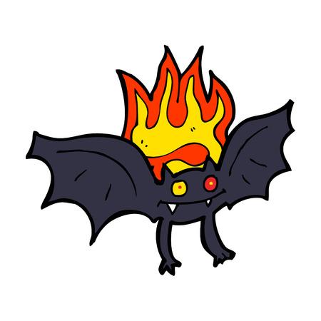 vampire: cartoon vampire bat