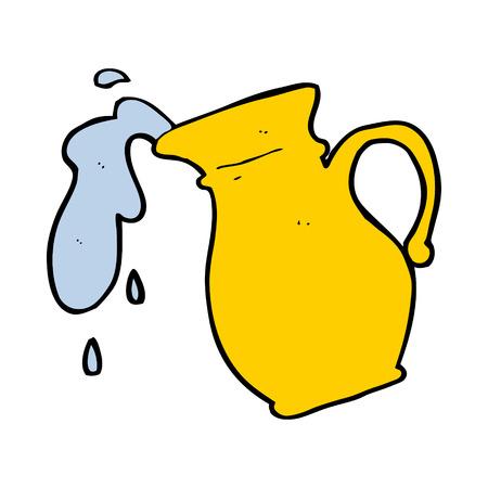 water jug: cartoon water jug