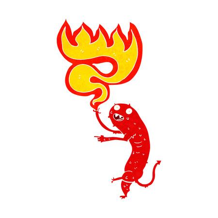grosse: dessin anim� petit monstre brut