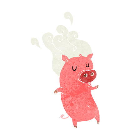 smelly: smelly cartoon pig