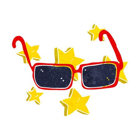 expensive: cartoon expensive sunglasses
