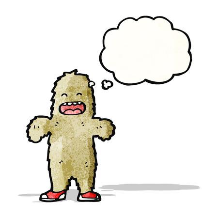 big foot: Cartoon Big Foot