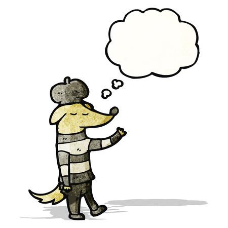 poet: cool cartoon dog