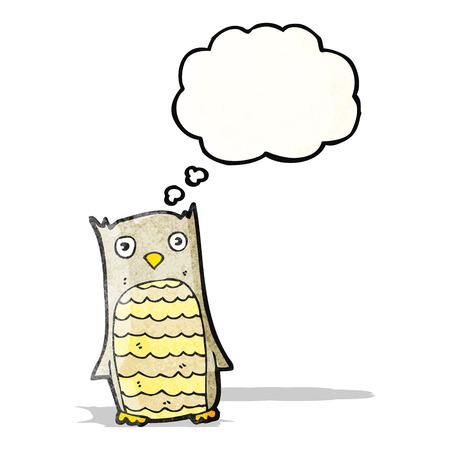 owl cartoon Vector
