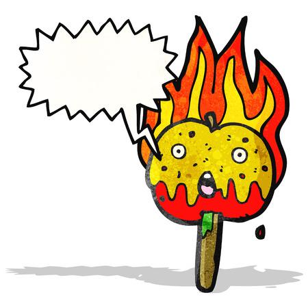 toffee: toffeeappel cartoon