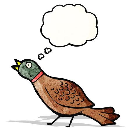 kuropatwa: Kuropatwa kreskówki Ilustracja