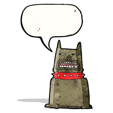 growling: growling dog cartoon