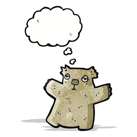 wombat: wombat de dibujos animados Vectores