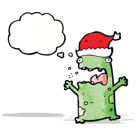 christmas frog: christmas frog cartoon