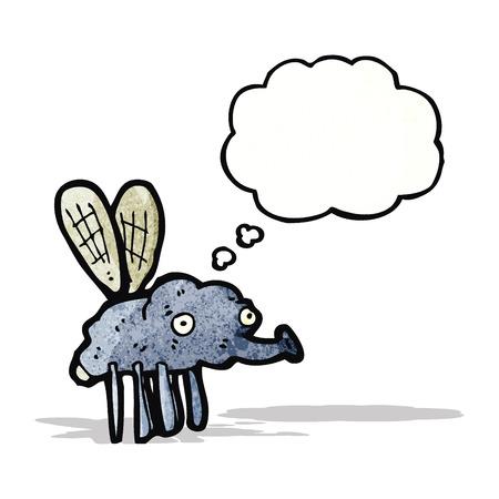 fly cartoon: gross fly cartoon