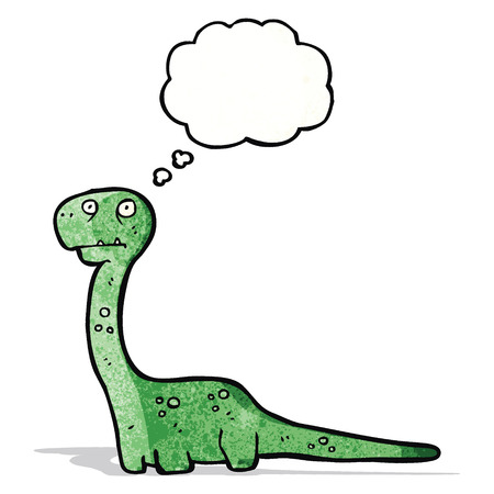 funy: cartoon dinosaur
