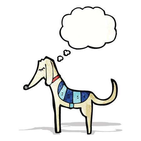 cartoon racing dog Vector