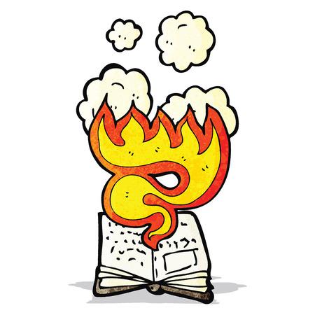 spell: magic spell book cartoon