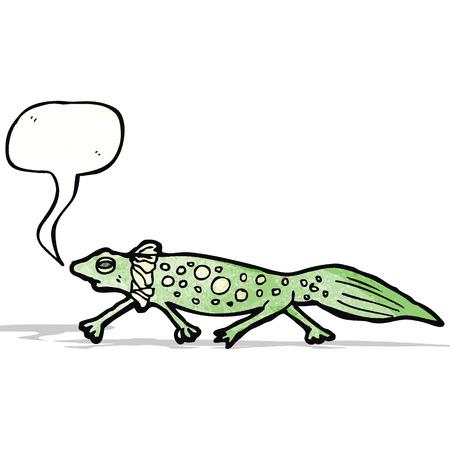 newt: cartoon salamander