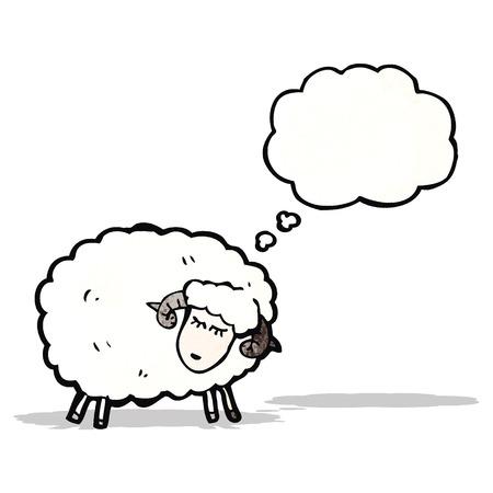 mouton cartoon: moutons de bande dessin�e