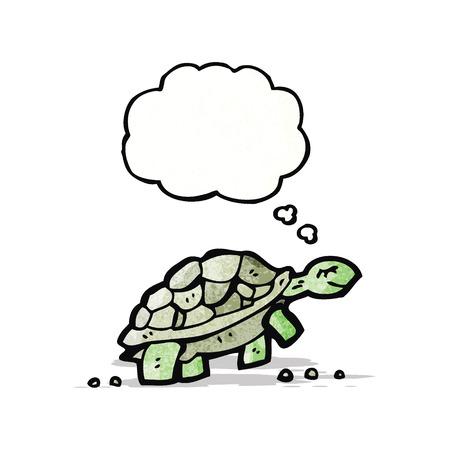 though: cartoon tortoise