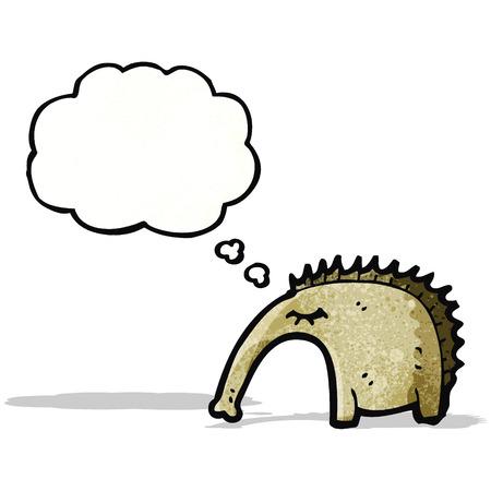 aardvark: cartoon aardvark