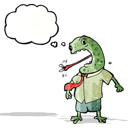 cartoon toad Illustration
