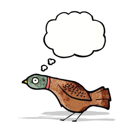 grouse: cartoon grouse Illustration