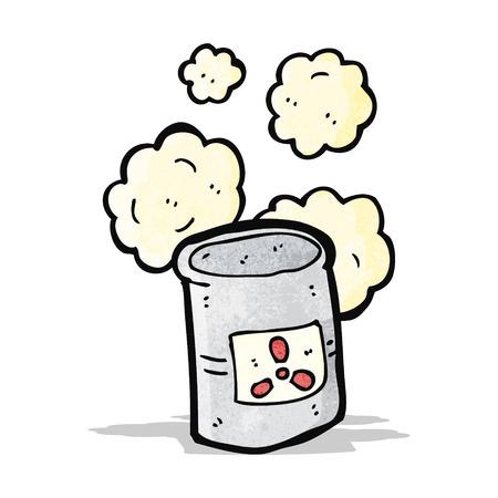 radioactive waste: radioactive waste cartoon
