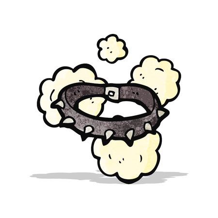 漫画スパイキー犬の首輪