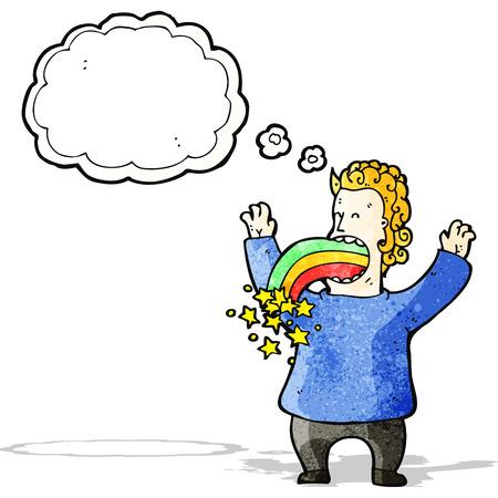hallucination: cartoon crazy hallucination
