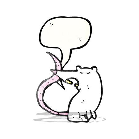 ratte cartoon: Quietschen lab rat cartoon