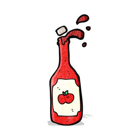 ketchup: cartoon ketchup