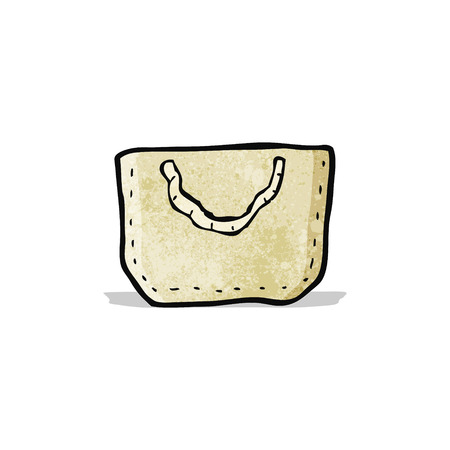 hessian bag: cartoon hessian bag