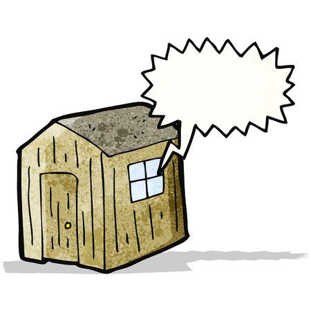 shed: cartoon shed