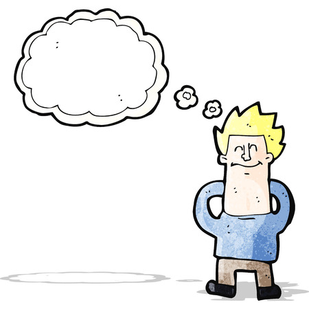 relajado: dibujos animados hombre relajado imaginaci�n