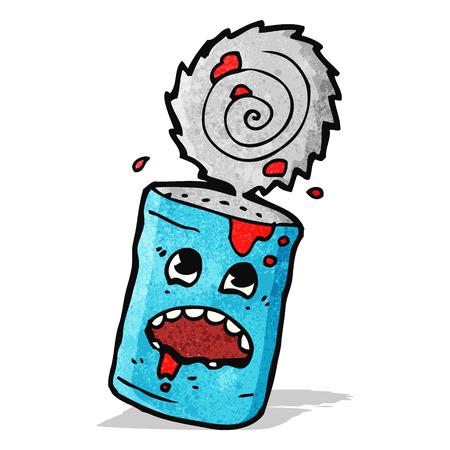 tin: cartoon tin can