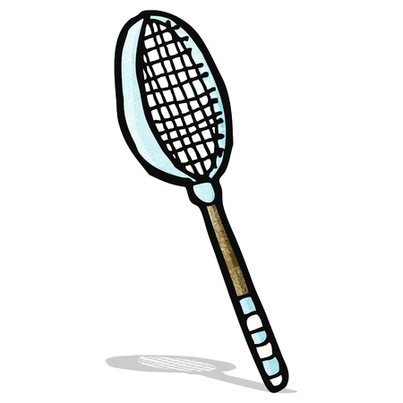 raquet: tennis raquet cartoon