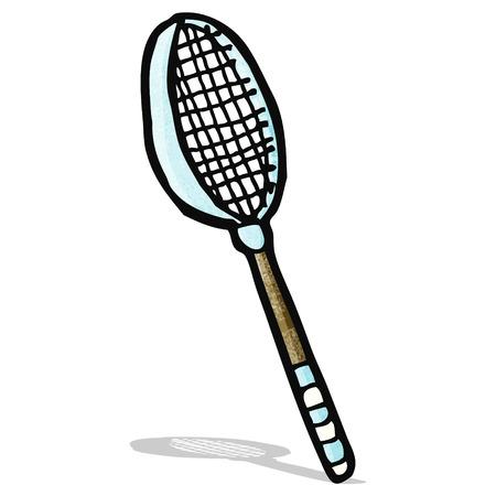 raquet: tennis raquet cartoon