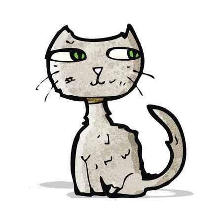 scruffy: scruffy cat cartoon