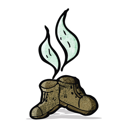 smelly: smelly old boots cartoon