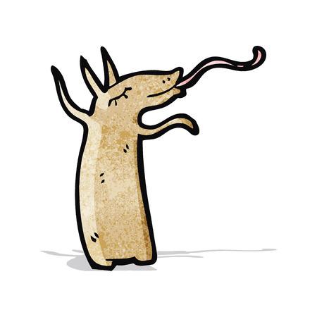 aardvark: happy aardvark cartoon Illustration